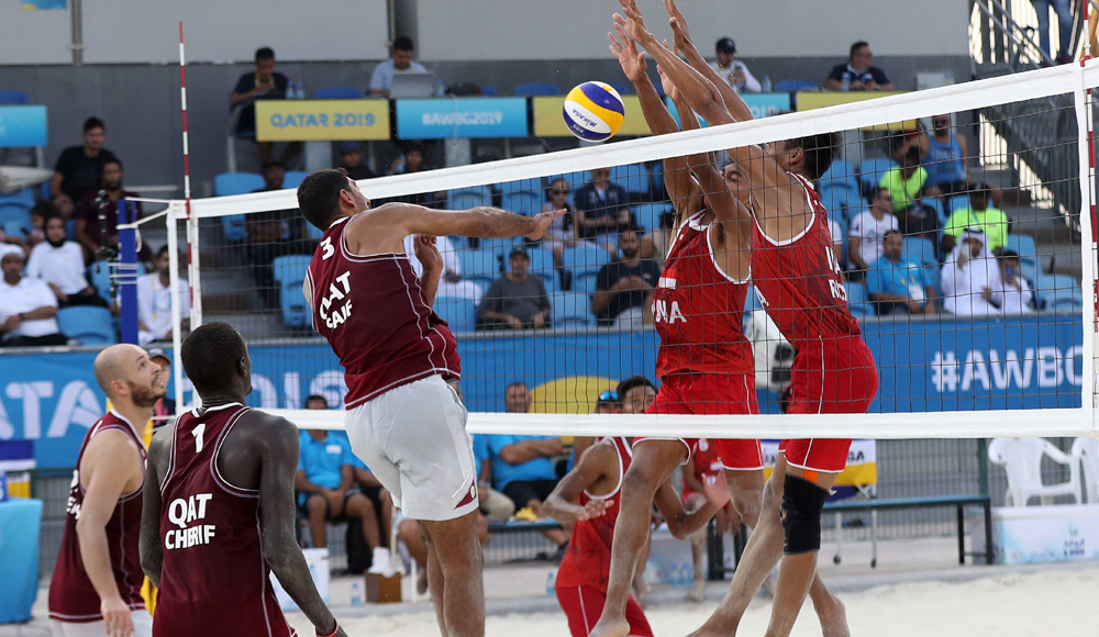 4x4 beach volleyball at the 2019 World Beach Games – Men's tournament