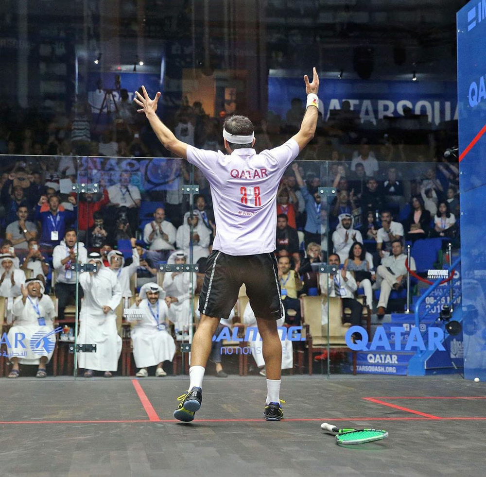 Qatar's Tamimi advances to third round of PSA Men's World Championship