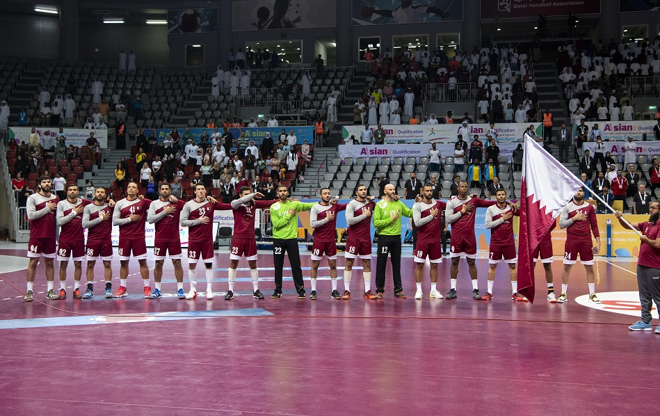 Qatar's handball team