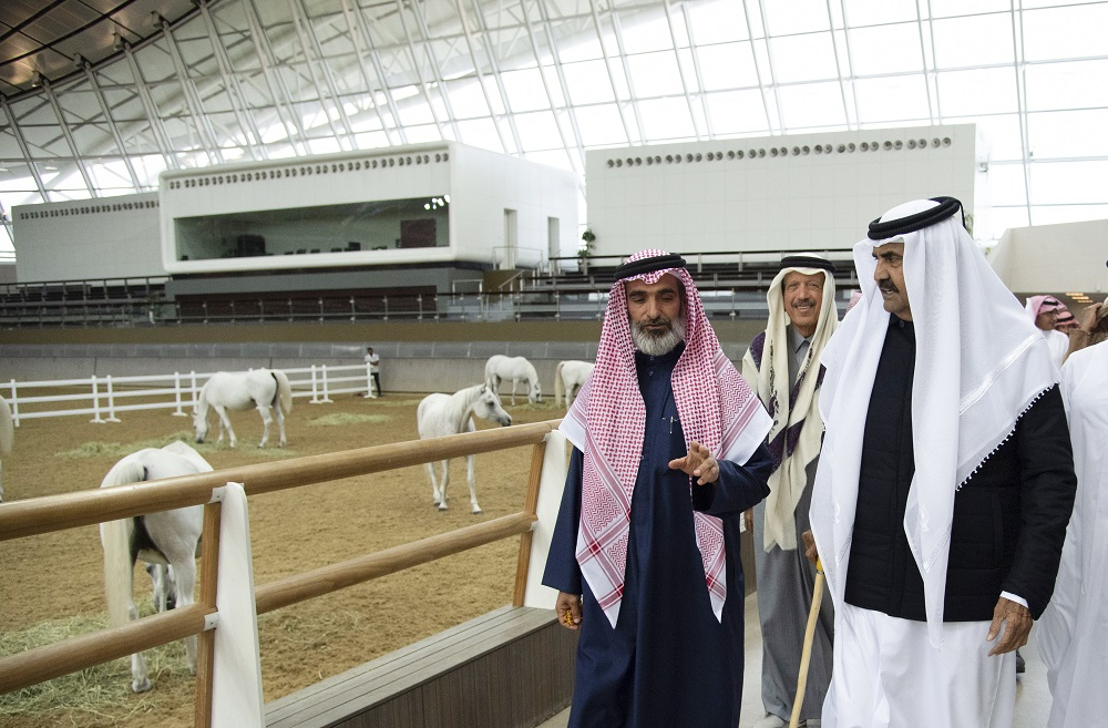 HH the Father Amir Participates in Qatar Sport Day