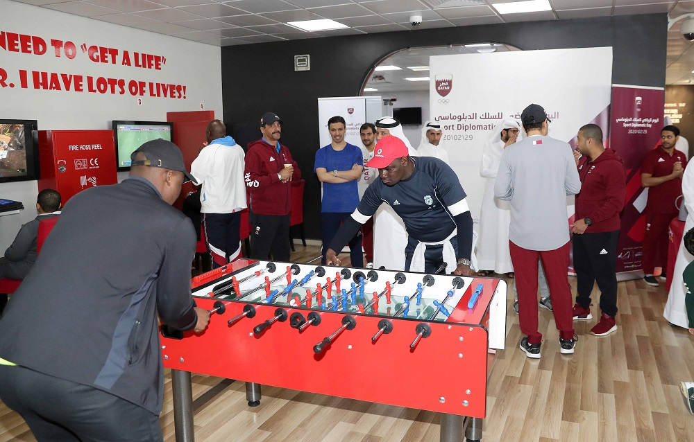 QOC organizes Sport Day For Diplomatic Missions