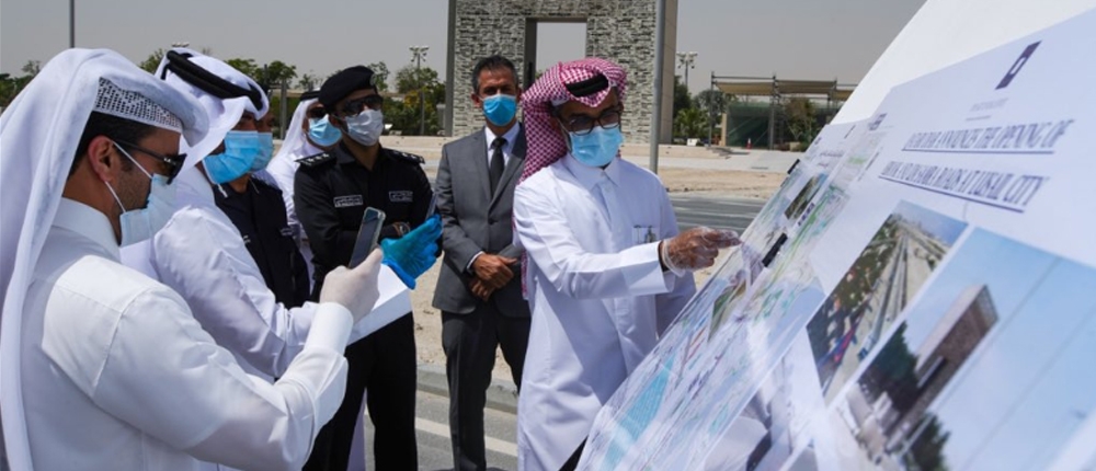 Opening of Abrouq and Umm Samra roads