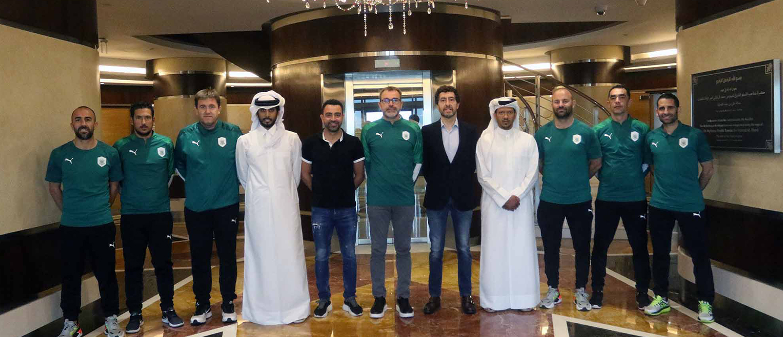 Xavi extends stay at  Al Sadd