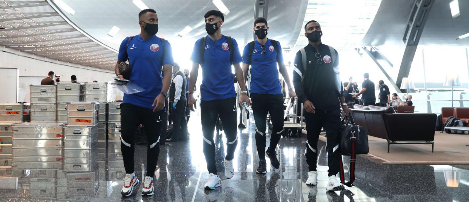 Qatar football team arrives in Turkey
