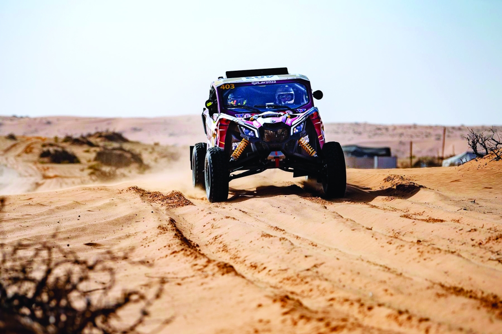 Nasser Saleh al-Attiyah claimed one bonus point for his runner-up finish in the opening stage