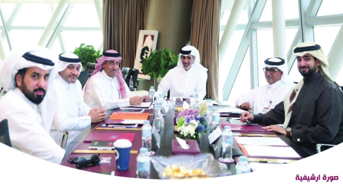 QFA president chairs executive committee meeting