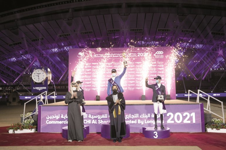 Sheikha Moza crowns winners of CHI Al Shaqab
